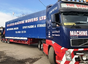 /leicester machine movers