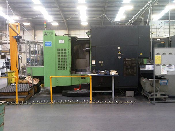 1996 Makino A 77, used Horizontal Machining Centres