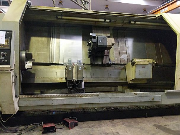 2008 Emcoturn 900 x 4000, used Turning Centres