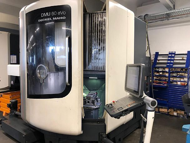 2012 DMG DMU 60 eVo, used 5 Axis Machines