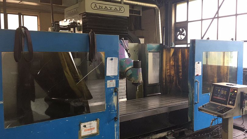 1998 Anayak VH3000 Plus, used Vertical Machining Centres
