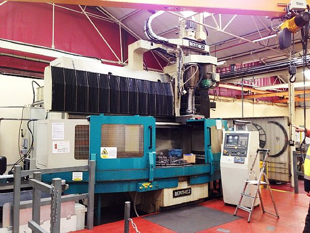 BERTHIEZ Precision Vertical Grinding Centre, used Others