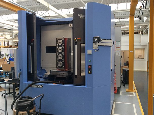 2015 Doosan NHP 6300, used Horizontal Machining Centres